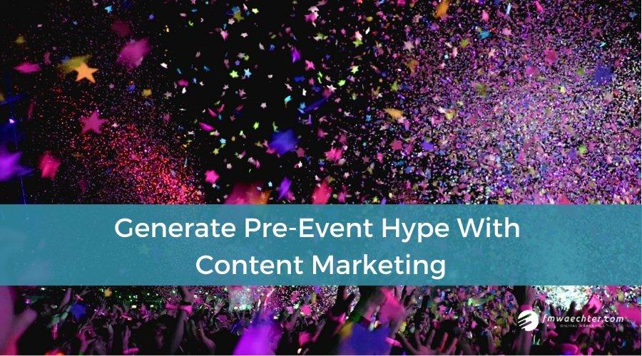 pre-event content marketing