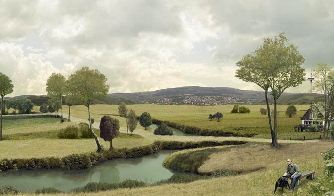 Marc Baruth, Staged Landscape, 2005