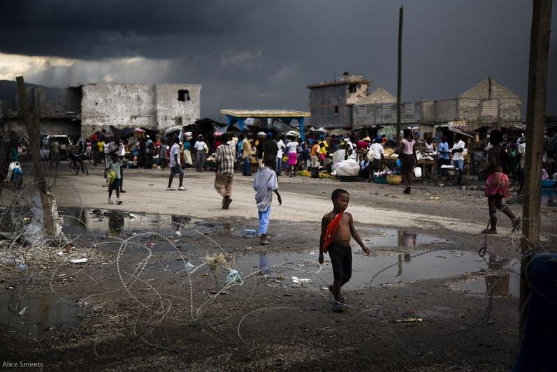 Alice Smeets in Haiti
