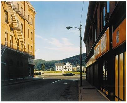 Holden Street, North Adams, 1974, Stephen Shore