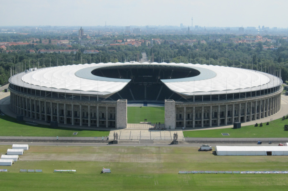 Es Gibt nur ein Berlin - Der er kun en Berlin. Olympiastadion Berlin. november 2014