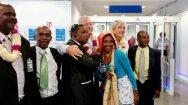 Après plusieurs jours passés sur l'île de La Réunion, Marine vient d'arriver à Mayotte.