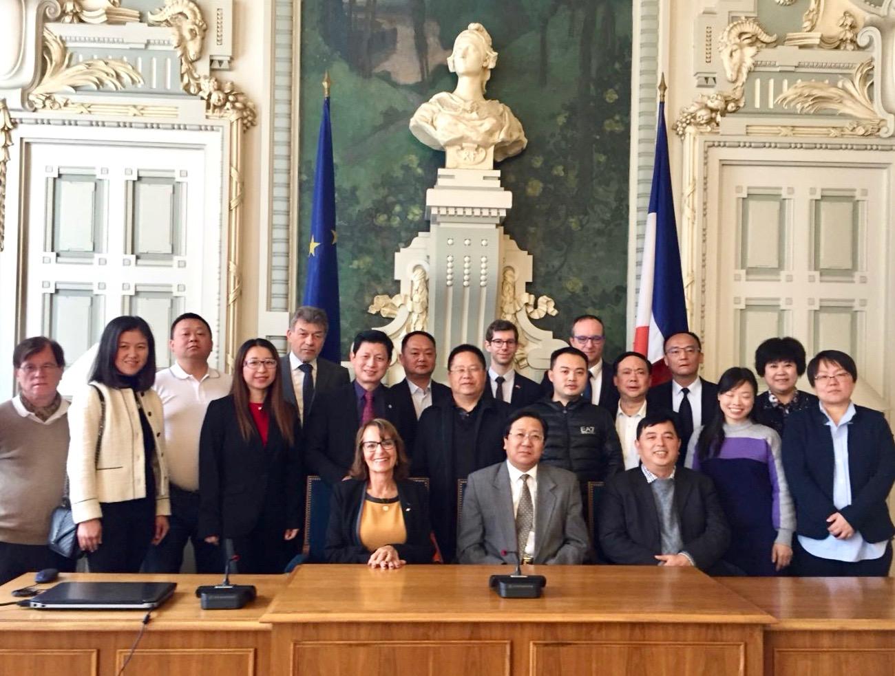 FNACCA - délégation Guizhou - Nov 2017