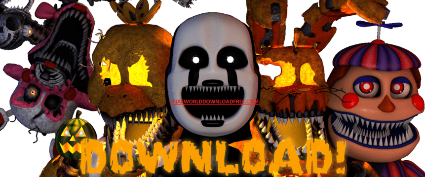 FNaF World Download PC Game Updated 2019 - FNaF World Download