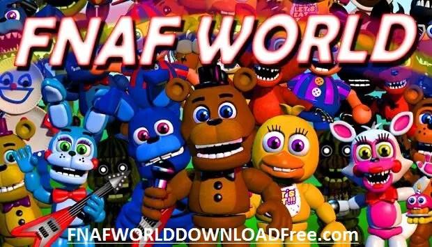 FNaF World Game PC Download