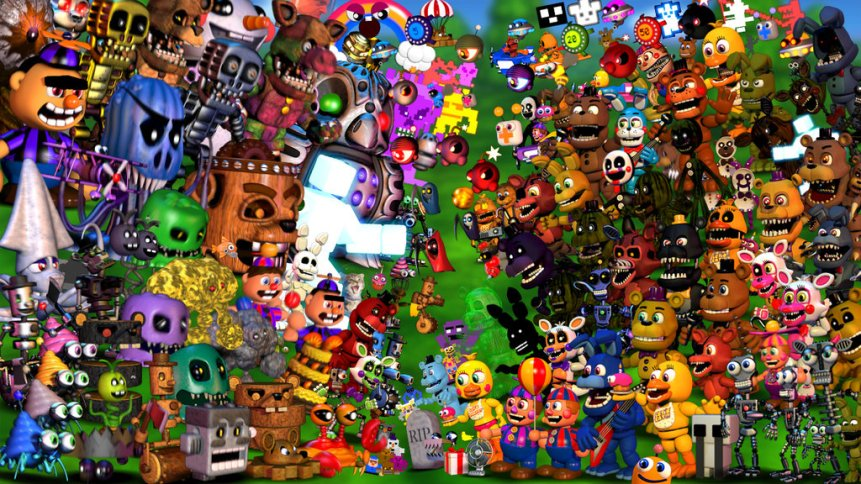 FNaF World Update 2