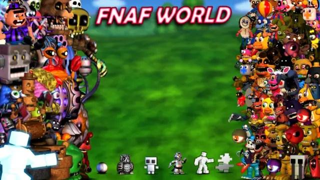 FNaF World Update 2