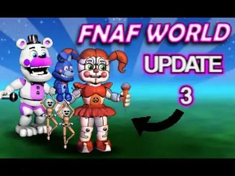 Fnaf World Update 3 download
