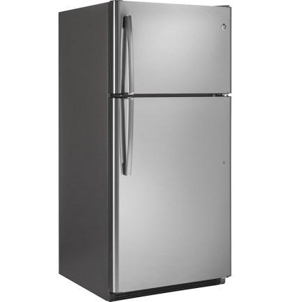美國奇異GTS21FSKSS不鏽鋼色上下門冰箱