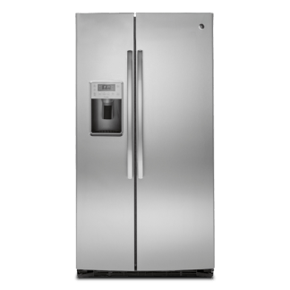 美國奇異PSE25KSHSS不鏽鋼對開冰箱