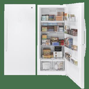 美國奇異 FUF21DLRWW 立式冰櫃