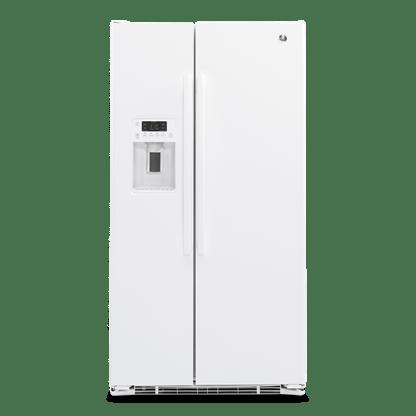美國奇異 GZS22DGJWW 純白色對開冰箱