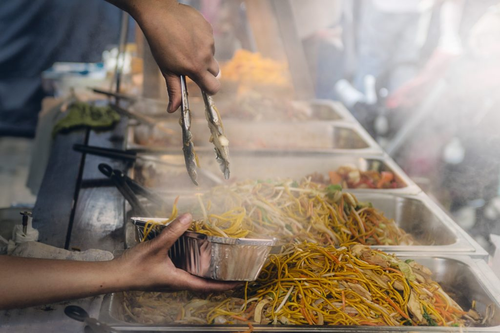 Pancit in the Philippines