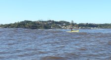 Sea-Kayaking near Missingham Bridge