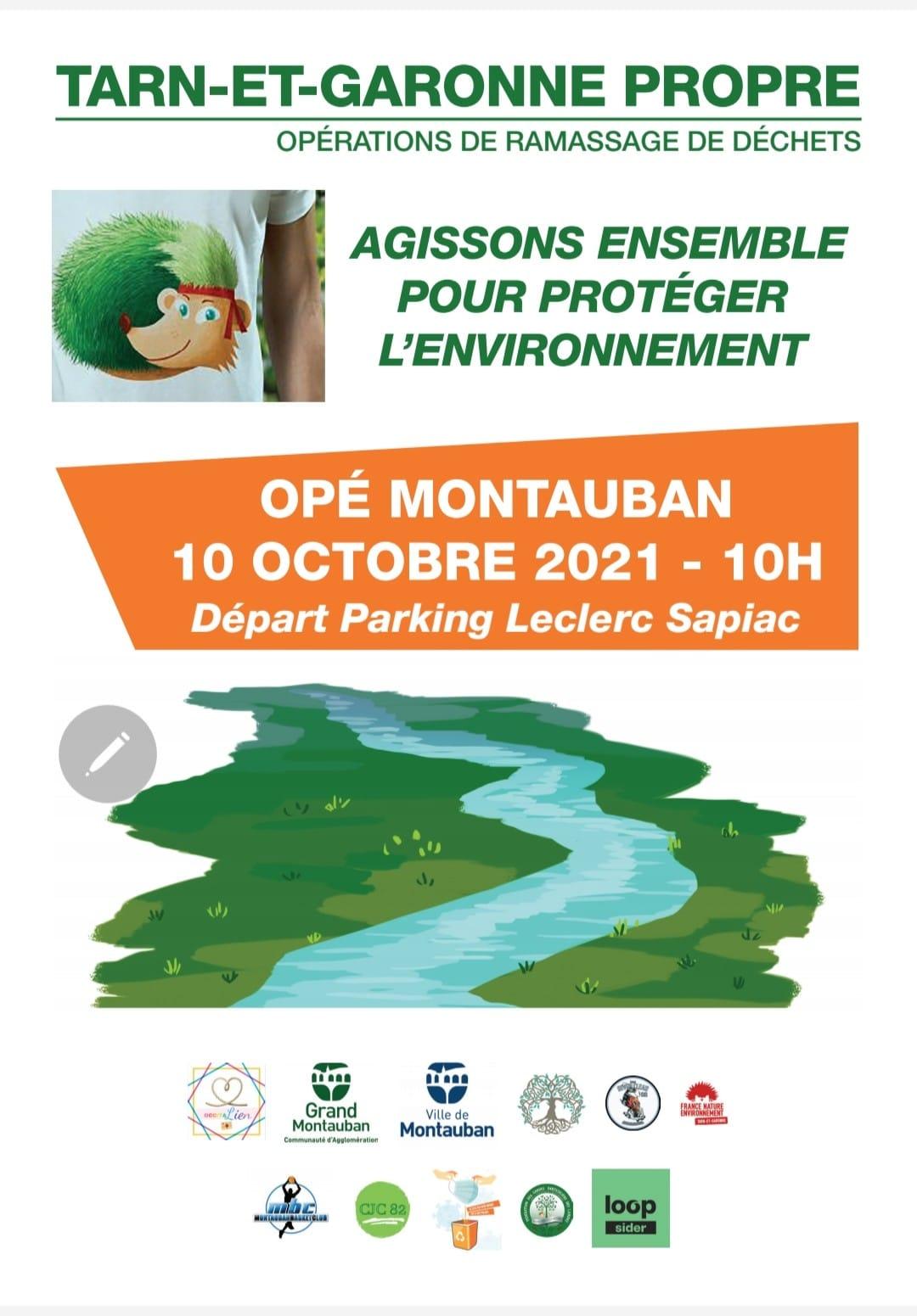 Action ramassage déchets du Dimanche 10/10 à 10h !