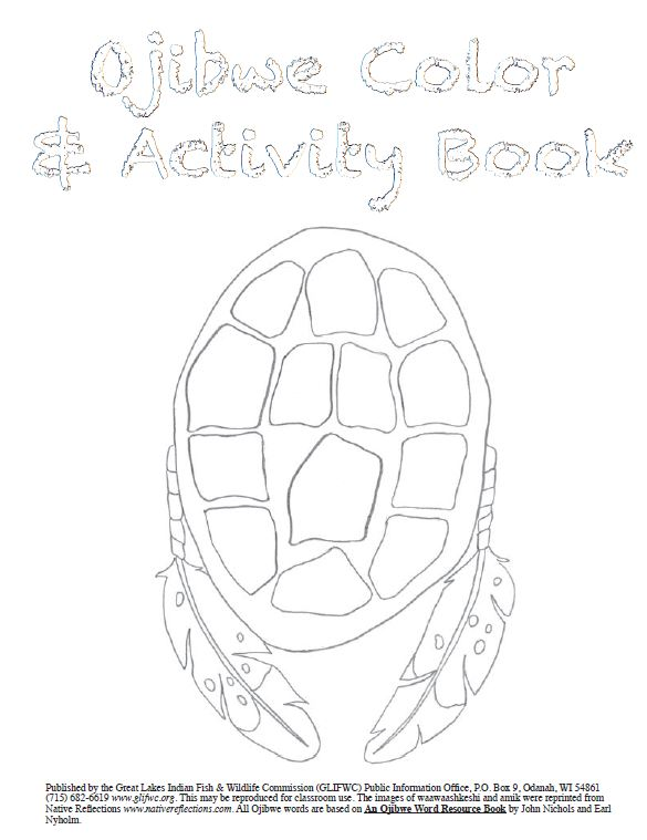 Ojibwe Colour and Activity Book