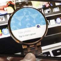 Motorola Fotokamera App - Update bringt Remote Auslöser für Android Wear Smartwatches