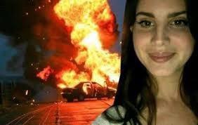 Lana del Rey burn bible photo