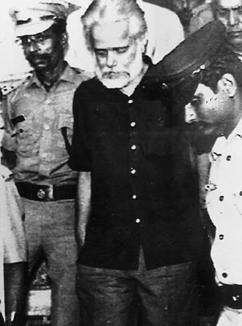 Nambi Narayan going jail photos images real