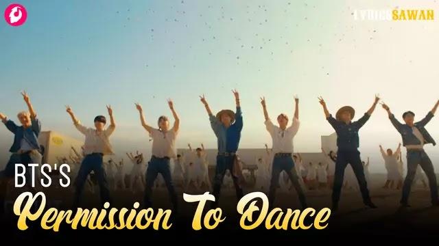 bts permission to dance song lyrics