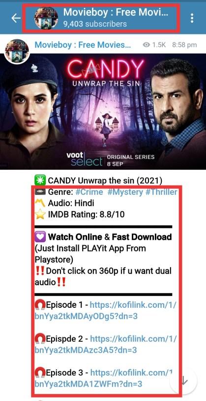 candy unwarp the sin telegram channel link 480p, 720p, 1080p