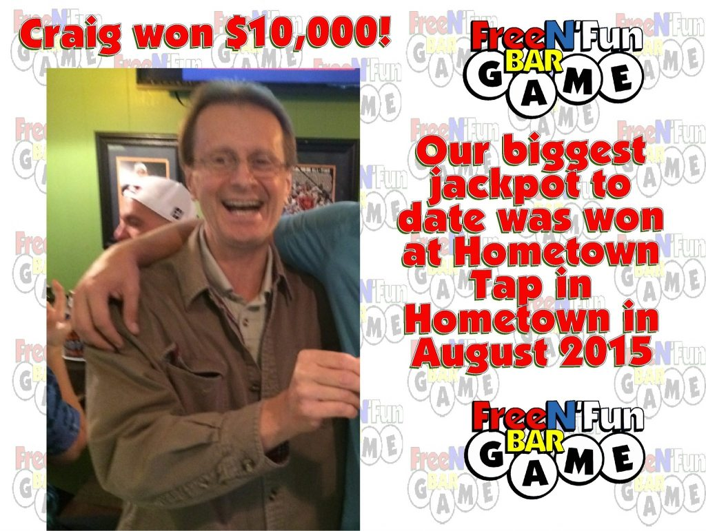 Craig 10000 winner