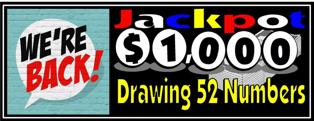 $1000 Drawing 52 numbers