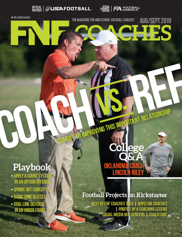 FNF Coaches Aug/Sep 2019 Coach vs. Ref