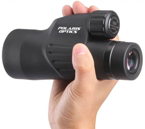 12X50 High Powered Monocular View