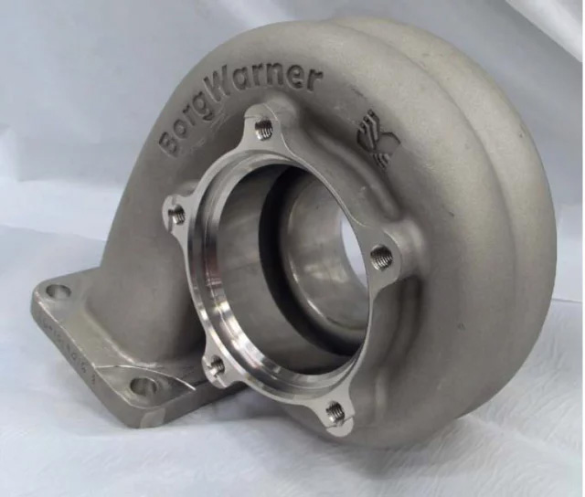 Ceramic coated turbine housing