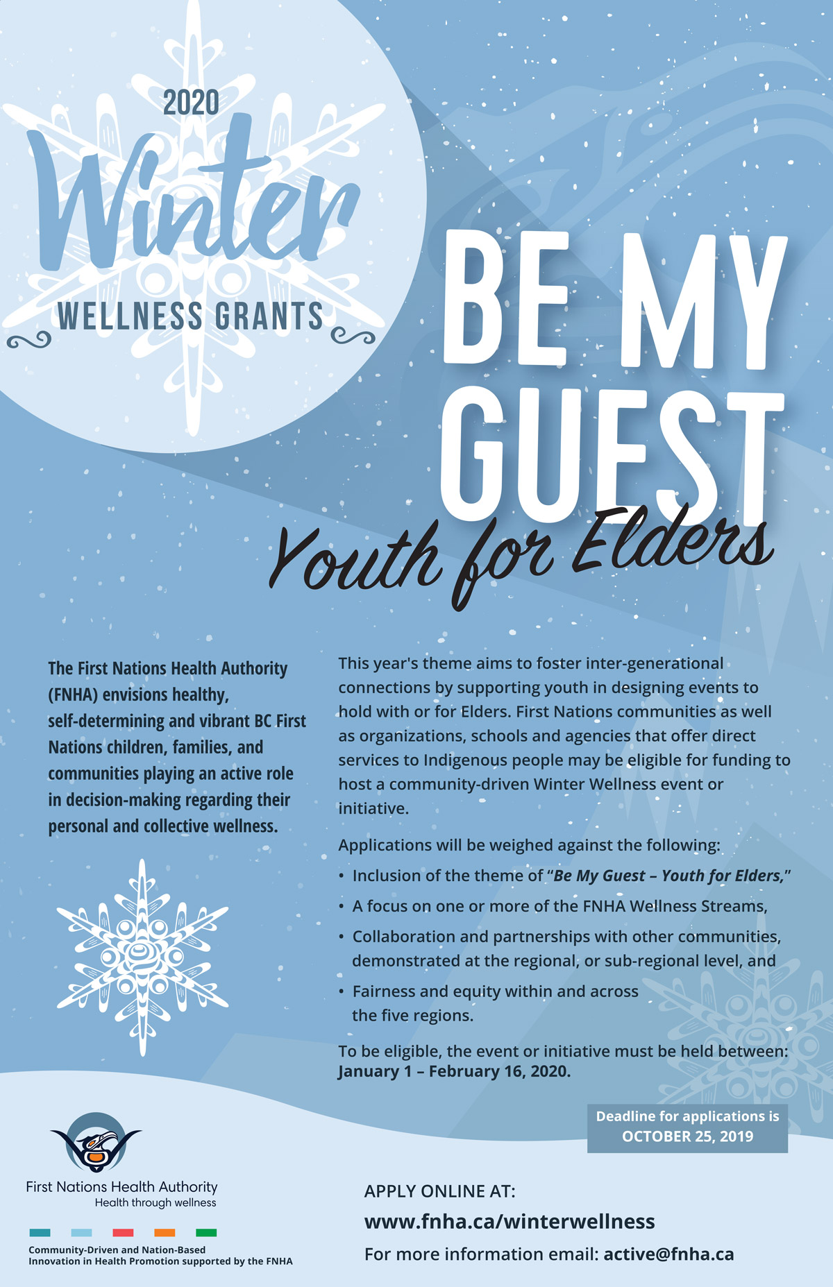 Federal Home Care And Family Support Grant : federal, family, support, grant, Winter, Wellness, Grants