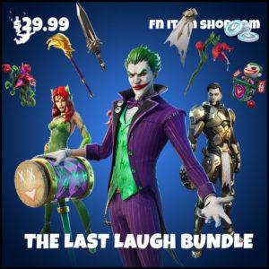 The Last Laugh DC Comics Skins Fortnite Bundle