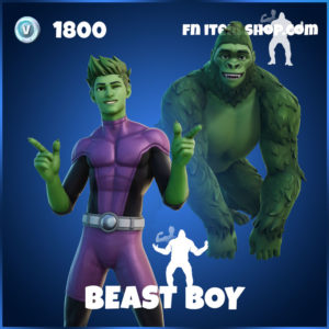Beast Boy Fortnite Teen Titans Skin