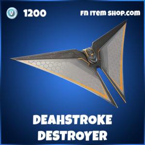 Deathstroke Destroyer Fortnite Glider
