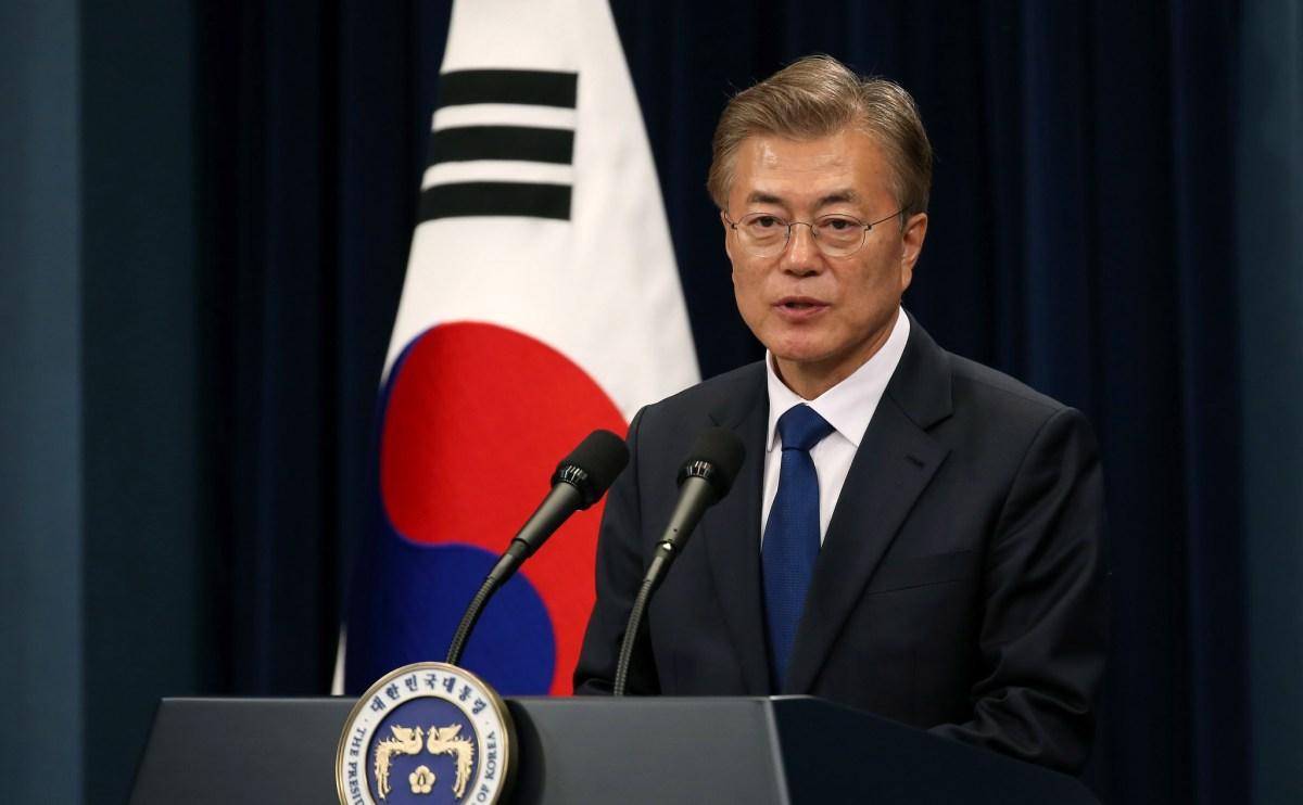 米タイム誌「今年の人」に韓国大統領が候補に…「朝鮮半島の緊張緩和に努力」