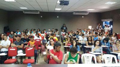 18/08/2017 - Jornada de Lutas da Juventude Brasileira - UBES, em Fortaleza/CE com a ACES
