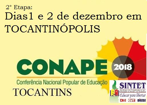 [TO] SINTET realiza 2ª etapa preparatória da CONAPE em Tocantinópolis