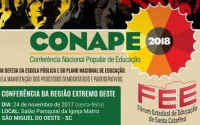 [SC] Fórum de Santa Catarina a todo vapor na organização da CONAPE