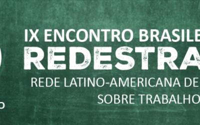 [SP] IX Encontro Brasileiro da Rede Latino-Americana de Estudos sobre Trabalho Docente
