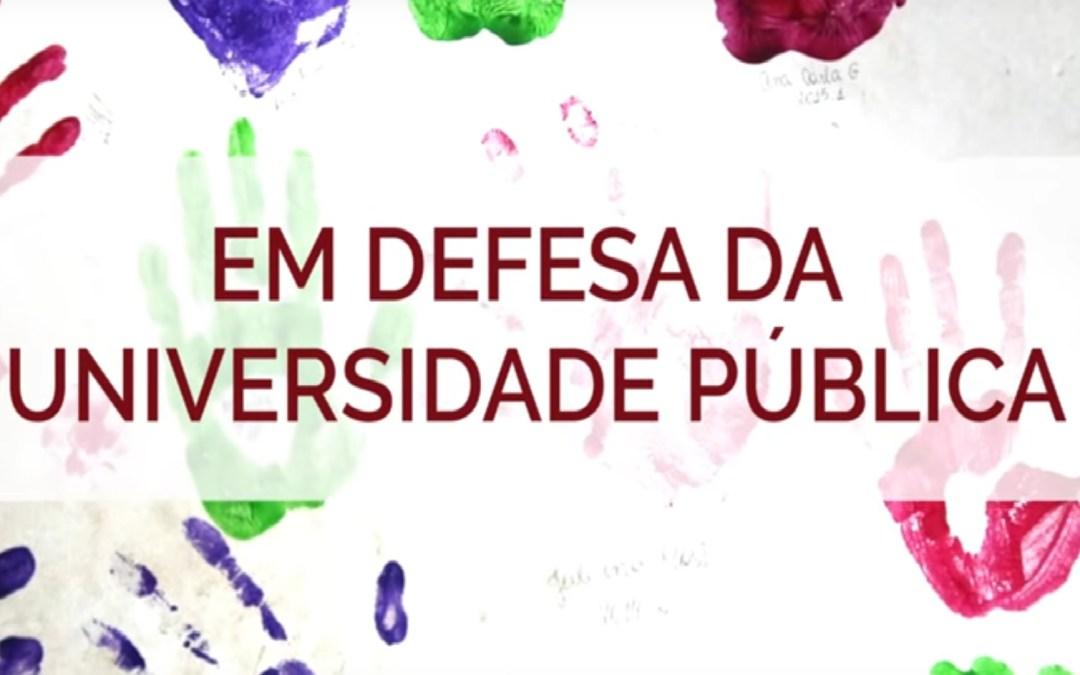 Universidade Pública: democracia, diferença e resistência