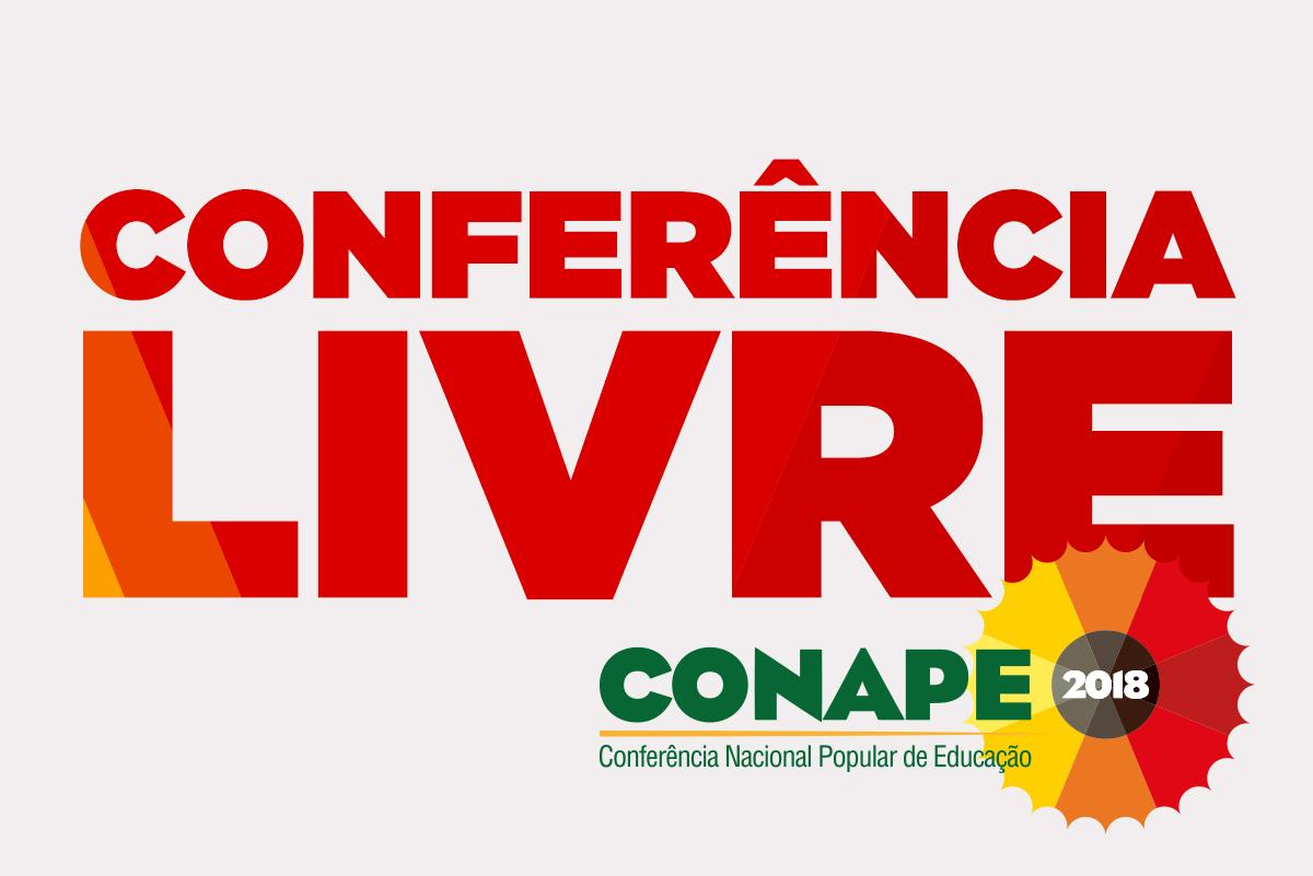 [RS] 23 de janeiro: Conferência Livre Conape 2018
