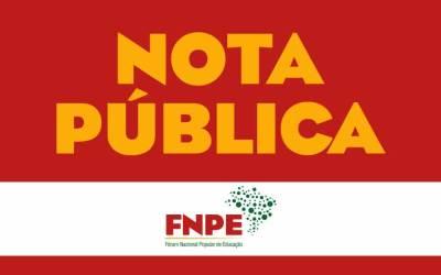 NOTA PÚBLICA DO FNPE –  Plural, amplo, representativo, popular e de luta: para defender a democracia, os direitos e a educação pública