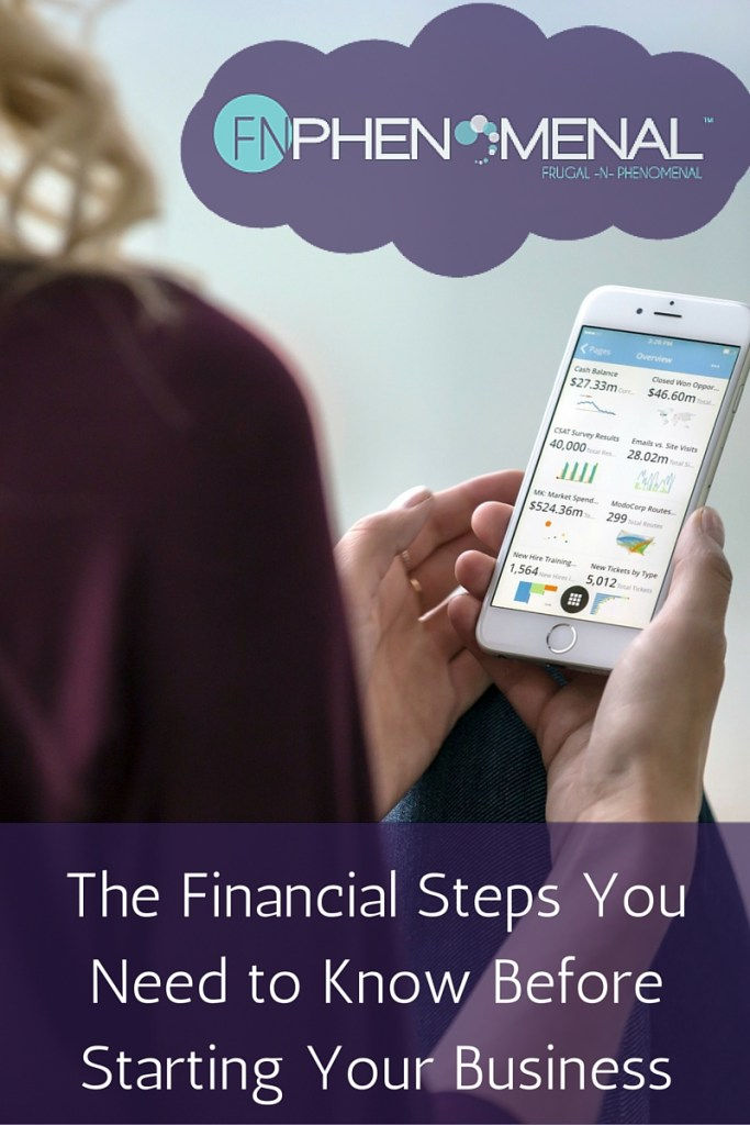 The Financial Steps You Need To Know Before Starting You