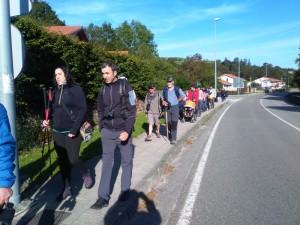 participantes a la ruta