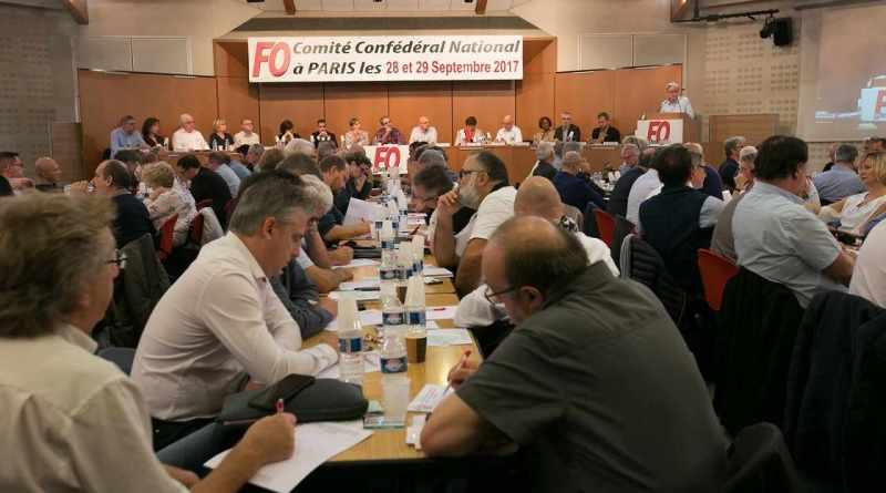 Résolution du Comité Confédéral National de la CGT Force Ouvrière – Paris, les 28 & 29 septembre 2017 | Force Ouvrière (via Force Ouvrière)