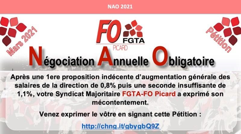 Négociation Annuelle Obligatoire 2021