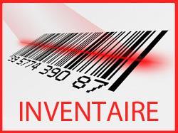 Inventaire/mise en place