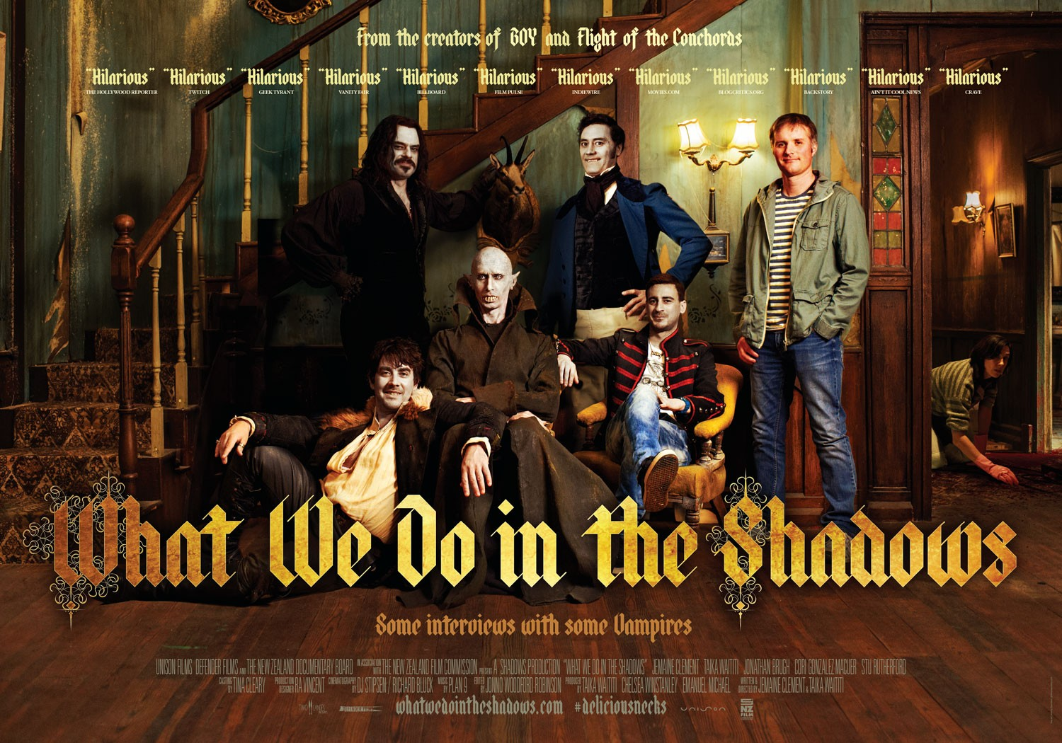 WHAT WE DO IN THE SHADOWS  The Review  We Are Movie Geeks