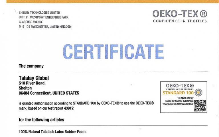 natural latex certificates foamsource