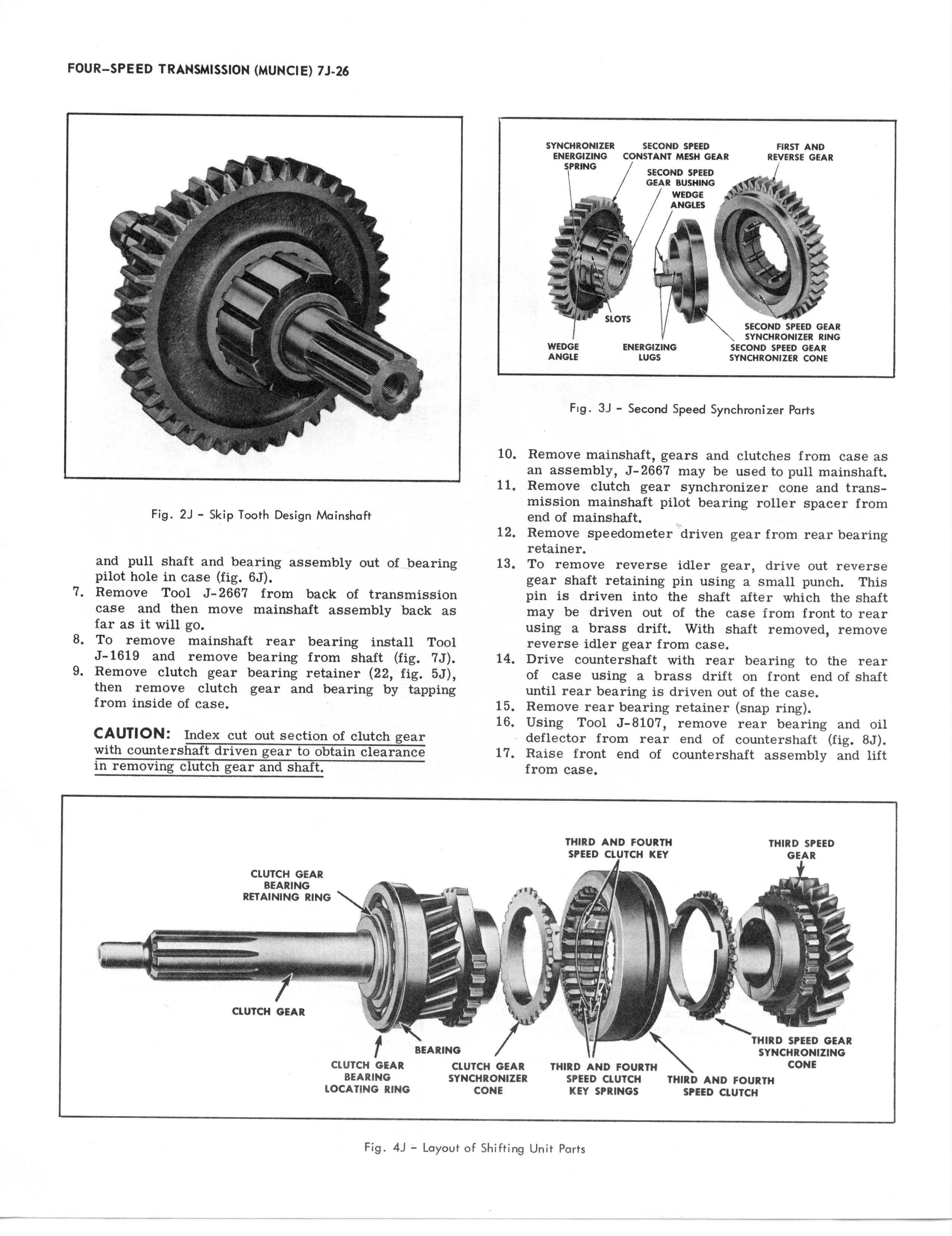 Chevy Transmission Service Manuals